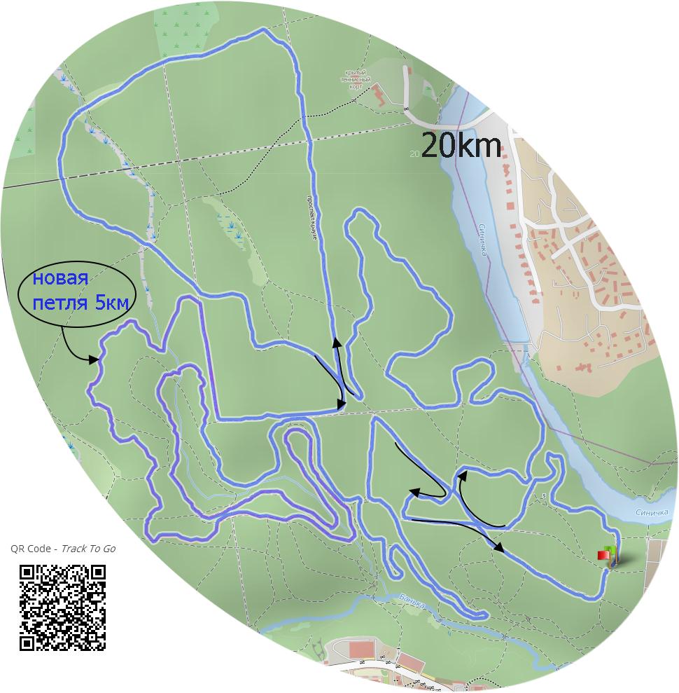 Красногорск схема лыжных трасс